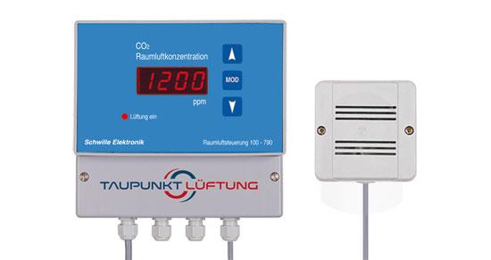 100-780 CO2 Lüftungssteuerung für frische Luft zur besseren Konzentration